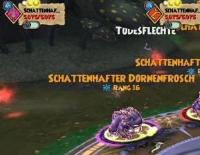 Schattenhafter Dornenfrosch (Gegner) - elfe's Wizsenspage