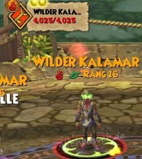 Wilder Kalamar Feuer Leben (Gegner) - elfe's Wizsenspage