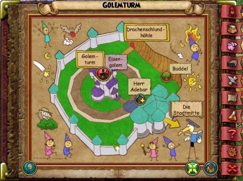 Golemturm Wizard City